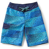 Nike Big Boys 8-20 Fade Striped Swim Board Shorts