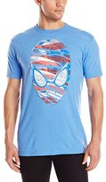 Marvel Men's Spiderman Head Shot Short Sleeve Graphic T-Shirt