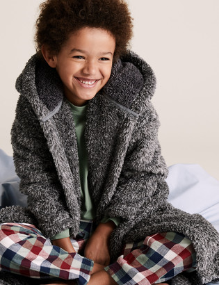 Marks and Spencer Fleece Dressing Gown (6-16 Yrs)