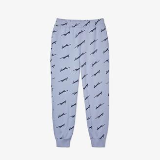 Lacoste Mens LIVE Cotton Fleece Sweatpants