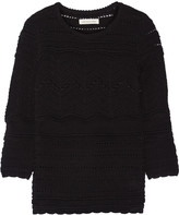 Etoile Isabel Marant Simon paneled cotton sweater sweater
