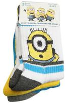 Despicable Me Minions- Sport Socks - 3 Pairs