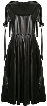 Sara Lanzi Flared Bow Dress