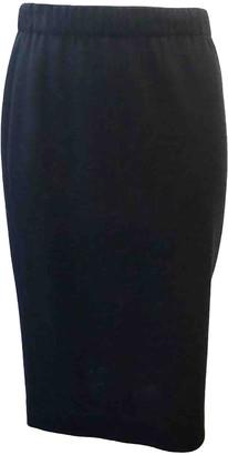 Leonard Black Wool Skirts