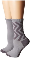 adidas Studio II Crew Socks 2-Pack Women's Crew Cut Socks Shoes