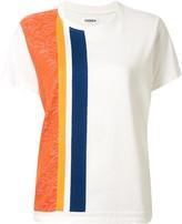 Coohem short sleeve paisley jacquard T-shirt