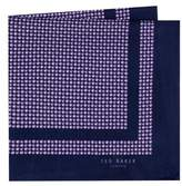 Ted Baker Micro Dot Silk Pocket Square