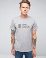 Fjäll Räven T-Shirt With Logo In Gray