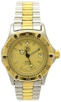 Tag Heuer 2000 Professional 200 964.008 Quartz Stainless Steel & Gold Plated 26.5mm Women