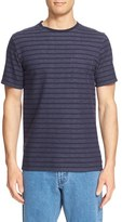 Saturdays Nyc Men's 'Randall' Stripe Crewneck T-Shirt