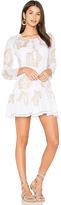 Juliet Dunn Starflower Beach Dress in White. - size 2/M (also in )