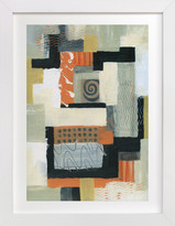 Minted Urban Quilt I Art Print