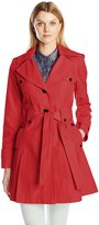 Via Spiga Women's Skirted Single Breasted Trench Coat