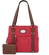 Rosetti Edge Out Double-Handle Satchel