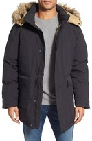 Schott NYC Men's 'Iceberg' Water Resistant Down Parka With Faux Fur Trim