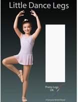 Pretty Legs Little Girls' Footless Dance Tights 70 Denier