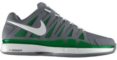 Nike Roger Federer Zoom Vapor 9 Tour iD Custom Clay Women's Tennis Shoes