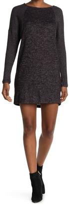 Bobeau Raglan Sleeve Cozy Dress