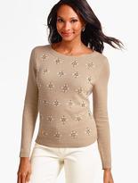 Talbots Sparkle Bead Sweater