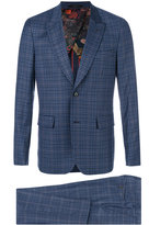 Paul Smith checked suit - men - Cupro/Wool - 36