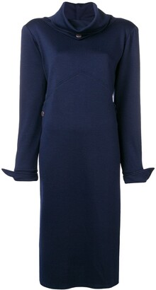 Fendi Pre-Owned 1980's fitted midi dress