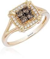 LeVian Le Vian Women's Chocolatier® Honey Gold® Framed Cluster Ring