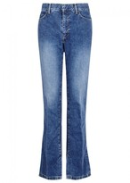 Toga Pulla Blue Flared Jeans