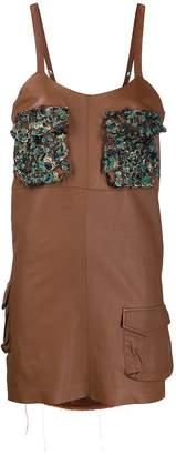 Almaz beaded pockets dress