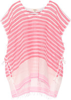 Lemlem Selina Striped Cotton-blend Gauze Kaftan - Blush