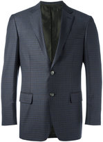 Brioni checked blazer - men - Cupro/Wool - 48