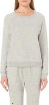 Sundry Distressed jersey sweatshirt