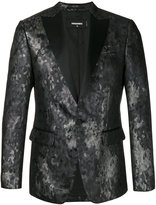 DSQUARED2 jacquard metallic evening blazer - men - Silk/Polyamide/Polyester/Acetate - 44