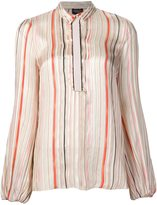 Giambattista Valli striped wide fit shirt