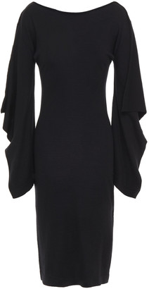 Lanvin Cotton And Wool-blend Dress