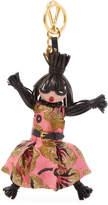 Prada Women's Fringe Doll Keychain