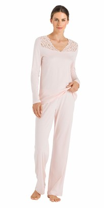 Hanro Women's Moments NW Pyjama 1/1 Arm Sets
