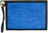 Kenzo Kombo multi zip pouch - women - Cotton/Leather - One Size