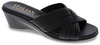 Italian Shoemakers Saylor Wedge Sandal