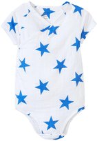 Aden Anais aden anais Kimono Bodysuit (Baby) - Medium Ultramarine Star - 6-9 Months