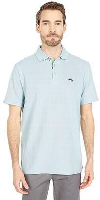 Tommy Bahama Five O'Clock Fauna IslandZone(r) Polo (Breeze) Men's Clothing