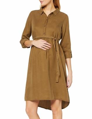 Mama Licious Mamalicious Women's Mlwigga L/S Woven Abk Dress