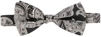Etro Paisley-Print Silk Bow Tie