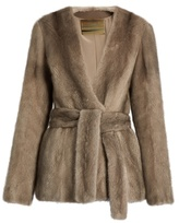 Brock Collection Faye mink-fur jacket