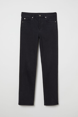H&M Straight Jeans - Black