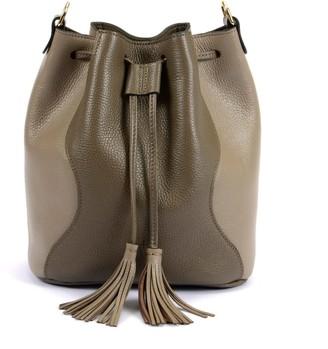 Hiva Atelier Rivus Leather Bag Mink & Sand