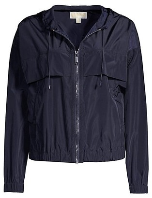 MICHAEL Michael Kors Memory Nylon Windbreaker Jacket