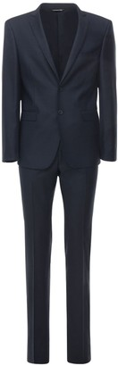 Tonello 18cm Microfantasia Stretch Wool Suit