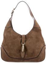 Gucci Nubuck Jackie Crossbody Bag