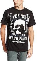 Bravado Men's Five Finger Death Punch Skull Zoom T-Shirt