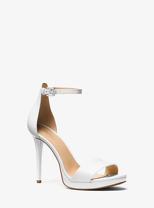 Michael Kors Hutton Leather Sandal